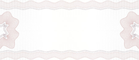Vector Guilloche background. Monetary banknote background.