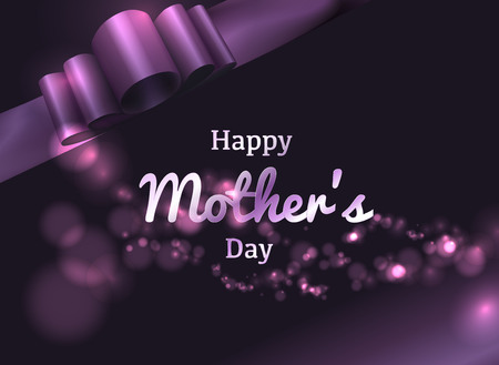 Vector Illustration for Happy Mother's Day. Stock Illustratie