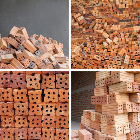 bricks materials construction photo