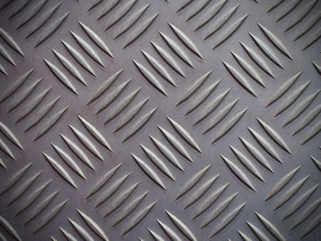 diamond plate: Seamless steel diamond plate background texture