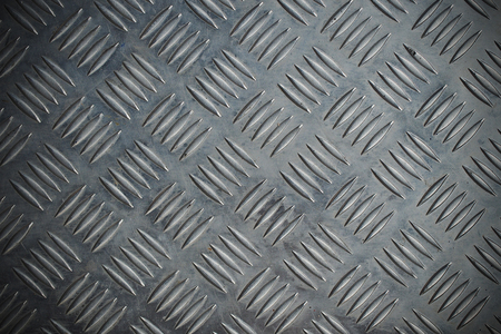 diamond plate: Seamless steel diamond plate texture Stock Photo
