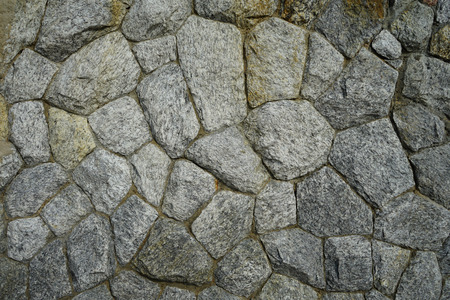 The wall made from stone for background