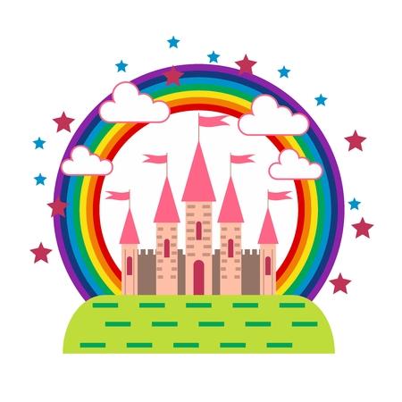 Fantasies on the theme of a fairytale castle