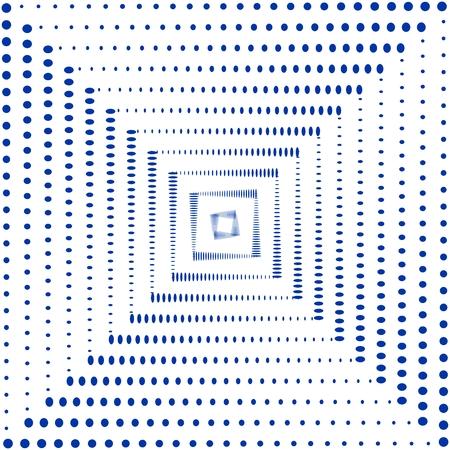 抽象的なドット パターン  イラスト・ベクター素材