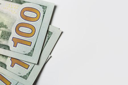 Mandala kaleidoscope from money. Abstract money background raster pattern repeat mandala circle. On white background.