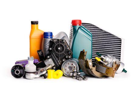 Autoinspektion, Ersatzteile, Autozubehör, Luftfilter, Bremsscheibe, Scheinwerfer