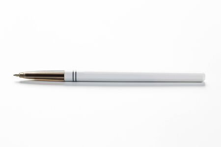 plastic ballpoint pen isolated on white background Stock fotó