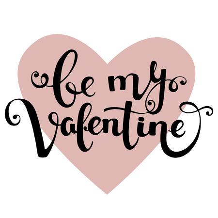 Valentines Day vector illustration card