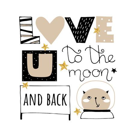 Doodle Valentines Day vector illustration