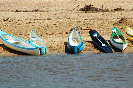 Canoes Stock Photo - 4070210