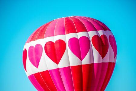 Heart Hot Air Balloon in Albuquerque
