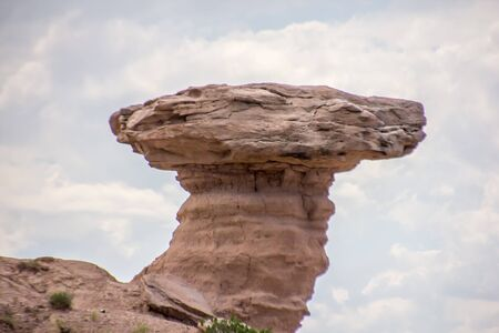 Close up of Camel Rock in New Mexico Фото со стока - 70731371