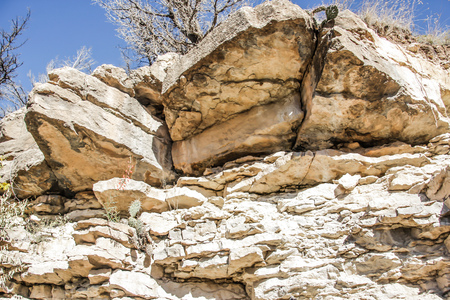 New Mexico fourth of July canyon Фото со стока