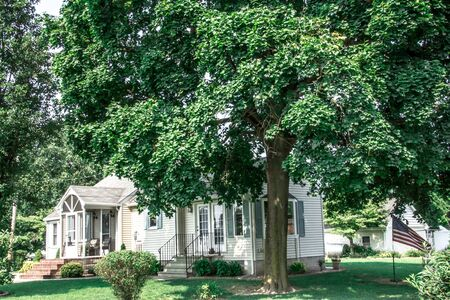 Lovely Colonial family home South of Dover Delaware Фото со стока - 73236524