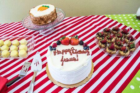 Christmas Desserts and Jesus Birthday Cake