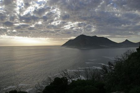 sentinel: View of the Sentinel,Hout Bay