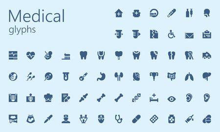 Medical easy glyphset