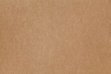 Brown cardboard background without any elements. The image can be used as a texture.