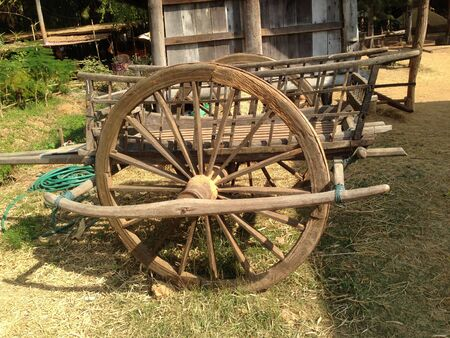 bogie: Cart old of Thailand