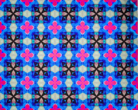 parallelogram: background  pattern made from piece of flower in modern style ,created from filter technique