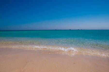 Beautiful blue shore of the Red Sea  close up Stock Photo - 12540074