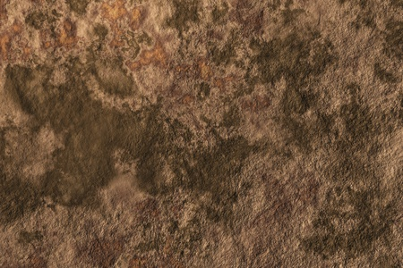 Brown background with green stains close up photo