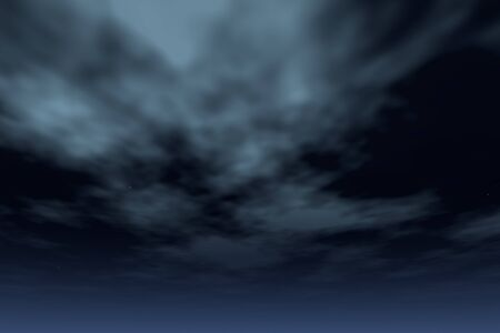 Night sky with clouds and stars Stock Photo - 12839670