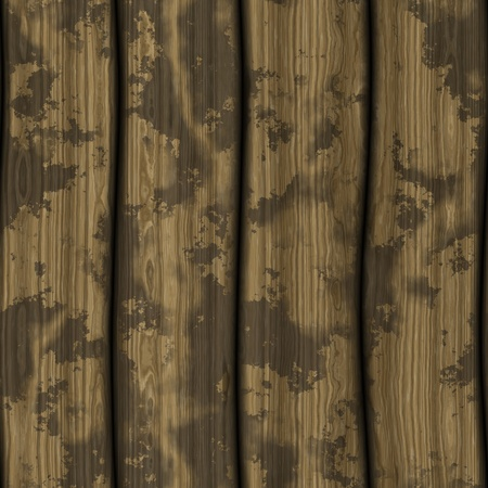 Seamless tale of 4 stained wooden planks Stock Photo - 12839772