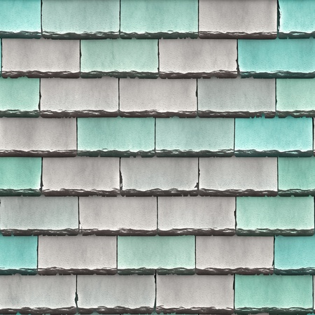 High quality seamless roof shingles background photo