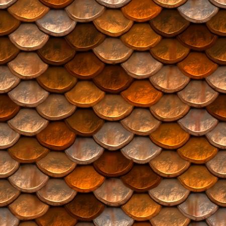 escamas de peces: Continuo de alta calidad de alta resoluci�n armadura oxidada Foto de archivo