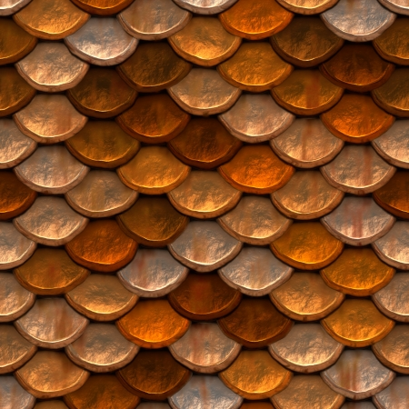 Seamless high quality high resolution rusted body armor Stock Photo - 13683240