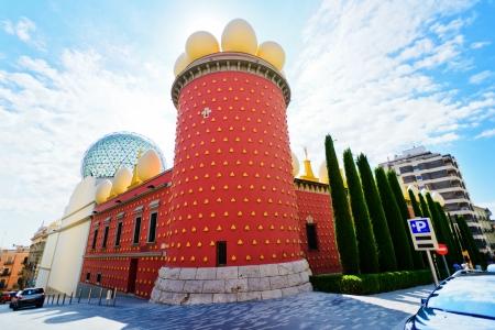 Salvador Dali museum in Figueras, Spain