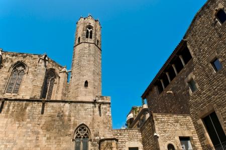 Santa Maria del Mar in Barcelona, Spain photo