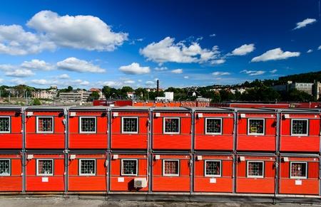 Casas de carga de contenedores en Oslo, Noruega
