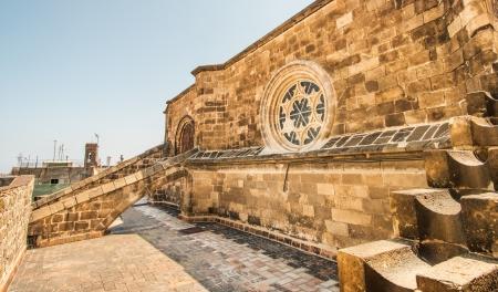 gotico: Techo de la Catedral de Santa Eulalia (La Seu) en el Barrio G�tico de Barcelona Foto de archivo