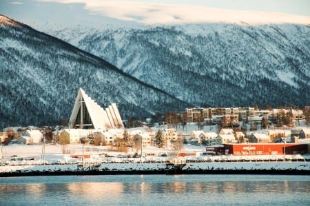 View of the Tromso city photo