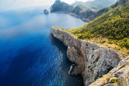 Fermenteur. La côte des îles de Majorque, Baléares