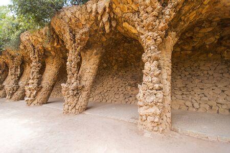 Park Guell, Barcelona, Spain photo