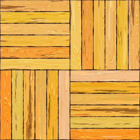 Seamless High Quality Resolution Wooden Floor Tiles Stock Photo