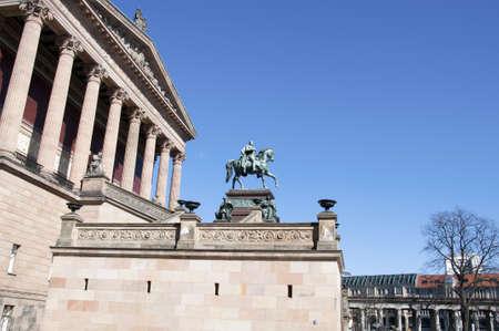 alte: museum of art - berlin alte nationalgalerie