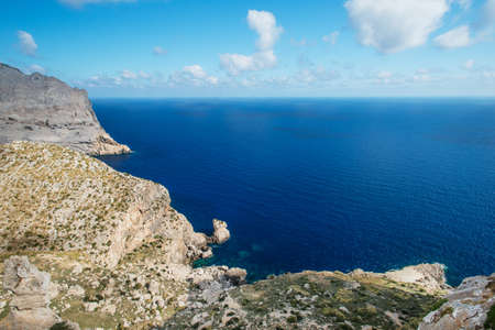 meer: Coast of Mallorca, Spain Stock Photo