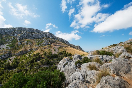 Mallorca mountain view, Spain Stock Photo - 16013253