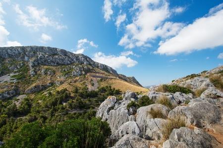 Mallorca mountain view, Spain Stock Photo - 16013253