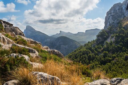 Mallorca mountain view, Spain Stock Photo - 16013257