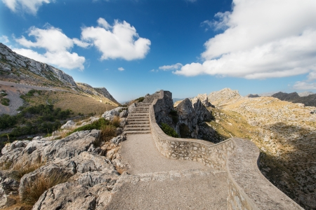 Stairs at Mallorca mountain, Spain Stock Photo - 16013242