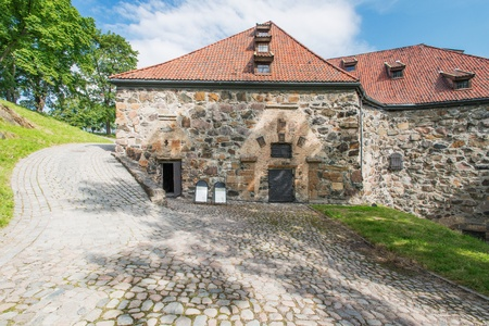 View on Akershus Fortress, Oslo, Norway Stock Photo - 16459240