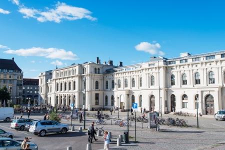 abbreviated: OSLO, NORVEGIA - 5 SETTEMBRE: Stazione Centrale di Oslo (Norvegia: Oslo Sentralstasjon, abbreviato Oslo S) � la stazione ferroviaria principale di Oslo e la pi� grande stazione ferroviaria su tutto il sistema ferroviario norvegese il 5 settembre, 2012