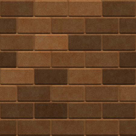 Brick wall  Seamless pattern  High resolution photo