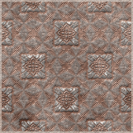 Tile with antique pattern photo