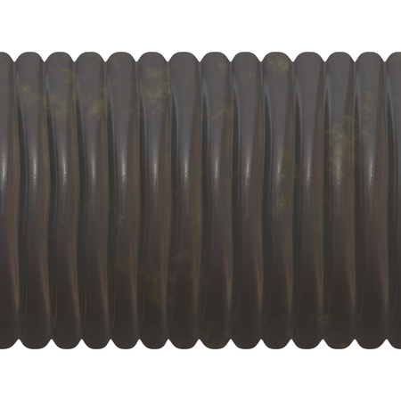 bendable: Ribbed pipe